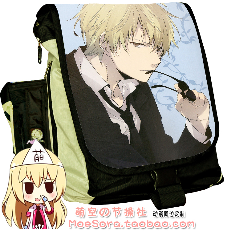 Anime Durarara Cosplay Heiwajima Shizuo Cos Anime cartoon backpack male and female students birthday gift anime tokyo ghoul cosplay male and female students bag korean couples anime leisure pu leather backpack child birthday gift page 1 href