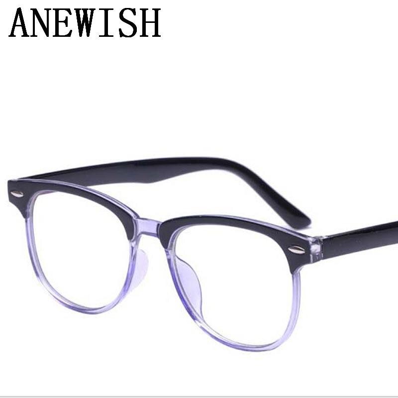 2017 new cheap discount retro anti blue light anti uv hardened mens eye glasses frame for womens eyeglasses masculino goggles