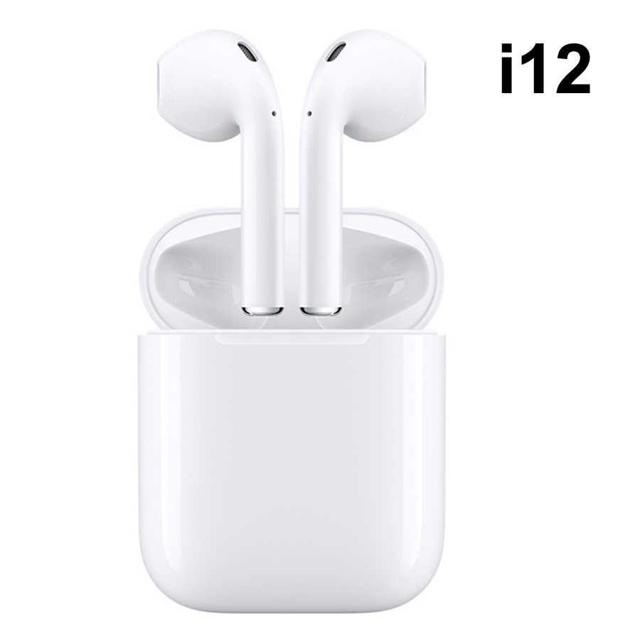 c0443e3d3a5 Original i12 tws wireless earphone bluetooth earphones touch control & 3d  stereo universal i10 tws earbuds