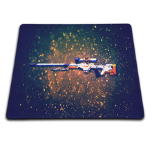 New High Quality Hot Game CS GO Background Pattern Mat Soft Rubber Cool Gaming Mouse Pad