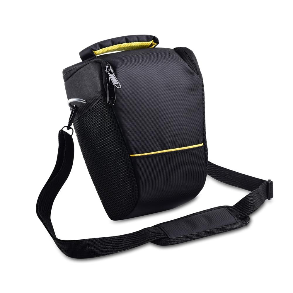 Negro Cámara bandolera caso para Nikon D5300 D5600 D610 D7200 D7500 D810A