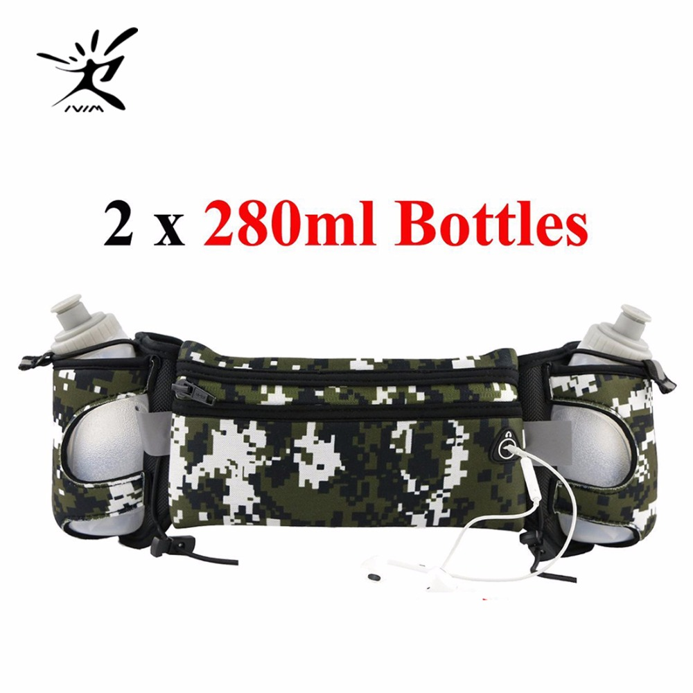 Hydration Belt for Runners with Water Bottles x BPA free oz Running