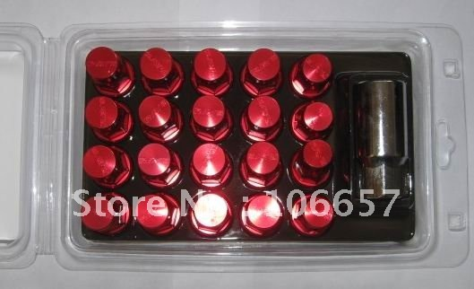Rays Engineering Wheel Lug Dura Nuts / M12x1.5 Long 50mm /20pcs per lots/ red and other color available