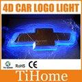 Free Shipping  4D LED CAR LOGO LIGHT/LAMP,4D LED car badge light for CHEVROLET Cruze/Captiva/Epica