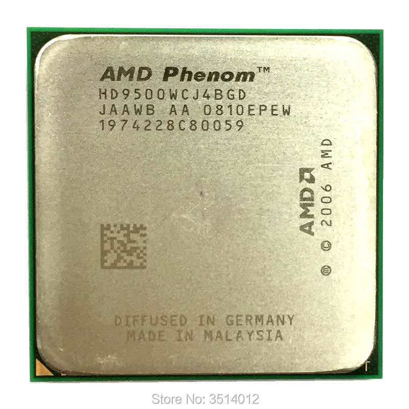 AMD Phenom X4 9500 2.2 GHz Quad-Core CPU Processor HD9500WCJ4BGD Socket AM2+ title=