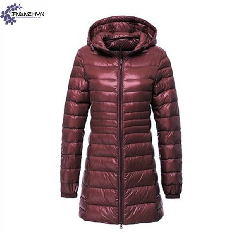 TNLNZHYN Women clothing Cotton coat winter fashion Long sleeve big size Fat MM leisure keep warm hooded female Cotton coat TT630 europe and the united states long sleeve hooded keep out the cold winter to keep warm and comfortable cotton coat