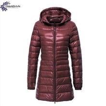 TNLNZHYN Women clothing Cotton coat winter fashion Long sleeve big size Fat MM leisure keep warm hooded female Cotton coat TT630
