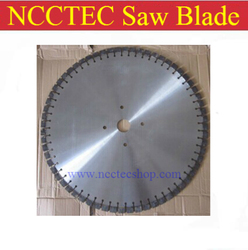 52'' diamond Walk behind wet saw blade | 1300mm 1.3 meter heavy duty steel reinforced concrete granite road bridge cutting disc
