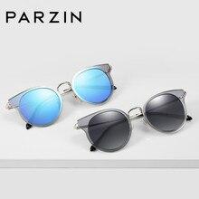 81219ef837 PARZIN бренд Для женщин поляризованных солнцезащитных очков для Для женщин  ультра-легкий TR90 летняя рамка