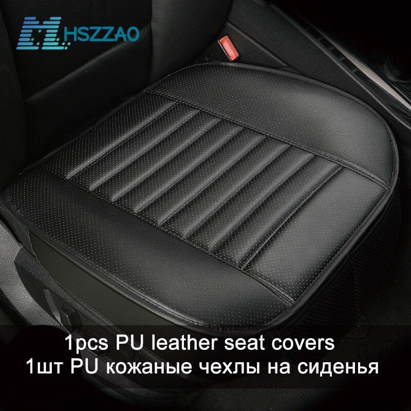 2 x CAR SEAT COVERS PROTECTORS FOR Audi A3 A4 A1 Q3 Black Front