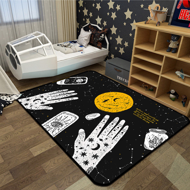 European Witchcraft Carpets For Living Room Bedroom Carpet Rugs Home ...