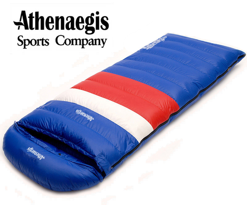 Athenaegis Ultra-light white duck down 1200g/1500g/1800g/2000g filling can spliced envelope breathable thickening sleeping bag new queen size bed white thickening folding luxury duck down mattress topper 100% cotton shell 95% duck down filling quilted