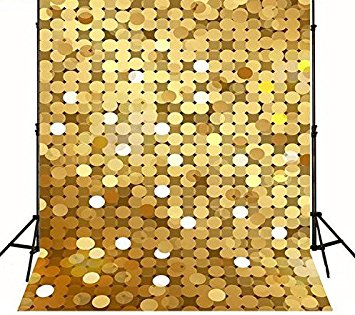 Vinyl cloth High quality Computer printed gold glitter backdrop dots  wedding  Photography  Backgrounds purple lighting stage curtain star photography backgrounds high grade vinyl cloth computer printed custom backdrops