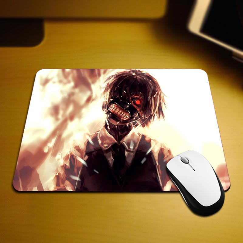 MaiYaCa Kaneki Mask Mouse Mats Computer Laptop Notbook 18*22cm and 25*29cm