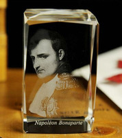 French Portrait Of Napoleon best gift limited edition Decor 3D Crystal Image handiwork BEST Business birthday gifts