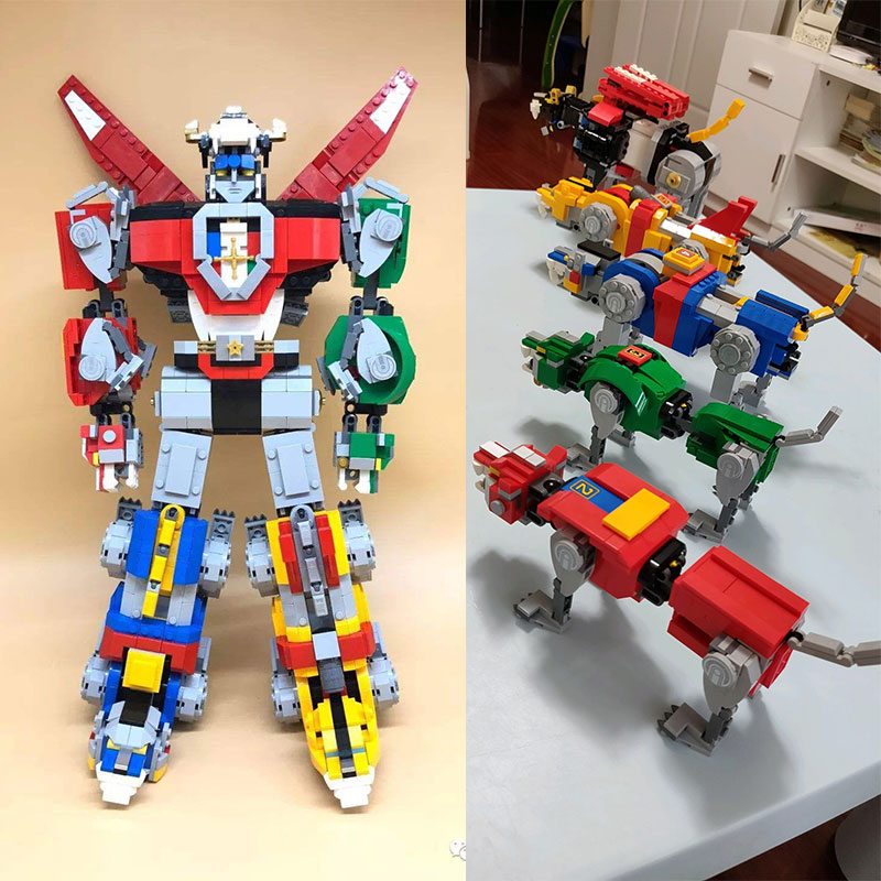 Lepin 16057 Movie Series Voltron Defender of The Universe The 21311 Changing Robet Set Building Blocks Bricks Kids Toys 2600pcs single the god of war king kong movie series voltron team godmars godzilla figure building blocks model bricks toys for children