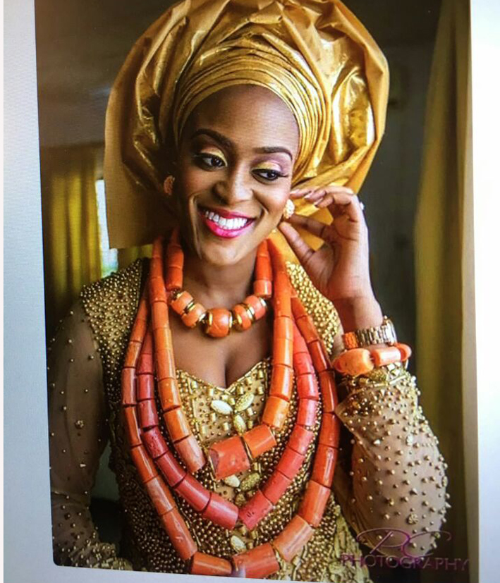 HTB1ad CcStYBeNjSspkq6zU8VXaR Luxury 3 Layers Red Coral Nigerian Wedding African Beads Jewelry Set 45 inches Gold and Coral Long Statement Necklace Set CNR853