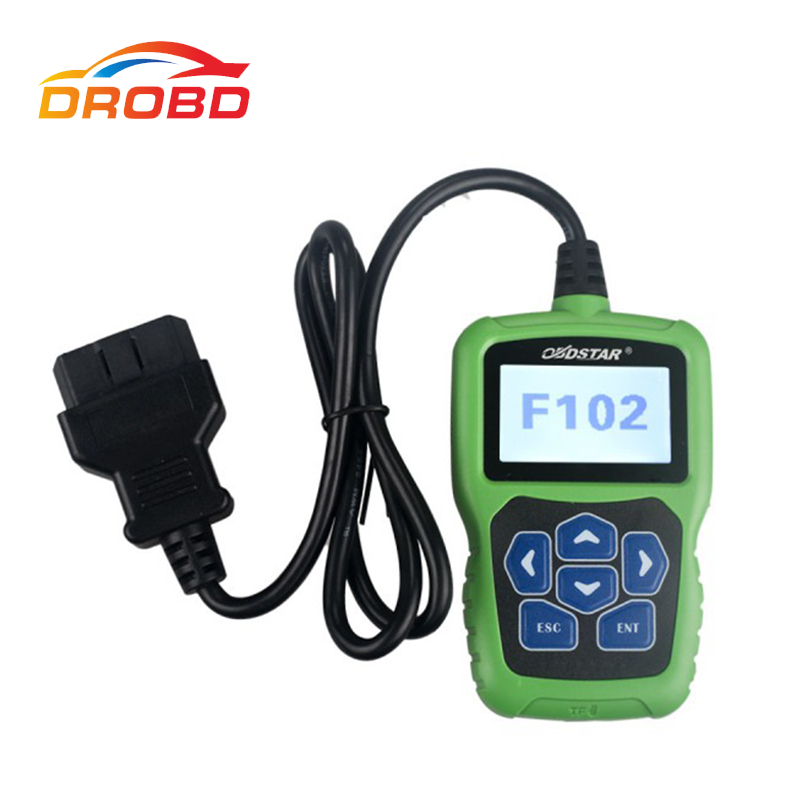 OBDSTAR F-102 F102 for Nissan/Infiniti Auto key programmer Automatic Pin Code Reader +Immobiliser +Odometer Correction tool obdstar f108 psa pin code reading and key programming tool for peugeot citroen ds f108 newly add k line