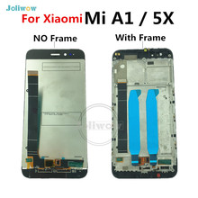 For Xiaomi Mi A1 LCD Display Touch Screen Digitizer Assembly Replacement Parts For Xiaomi Mi A1 MIA1 Mi5X Mi 5X LCD with frame aaaa original lcd for xiaomi a1 screen display digitizer assembly replacement lcd for xiaomi a1 screen with frame