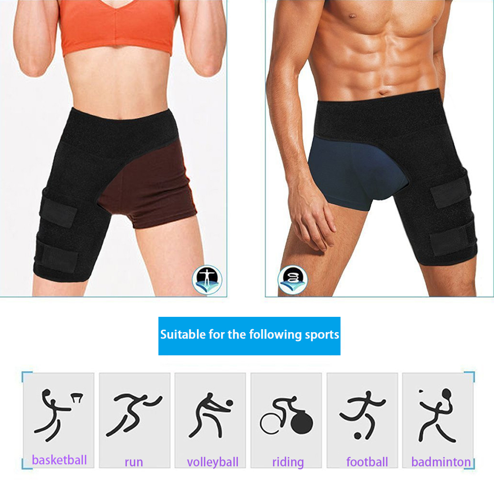 Thighs Protector Flexible Lightweight Protect Thigh And Waist Practical Mountain Climbing Easy To Wear Anti-muscle Strain