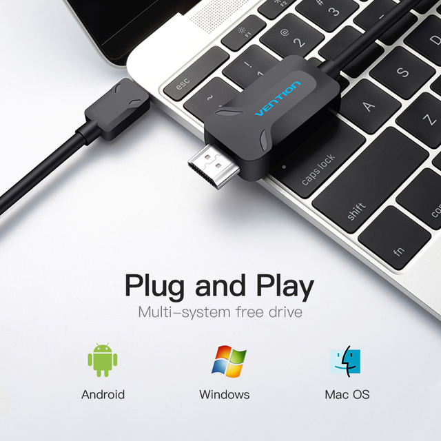 Vention USB C HDMI Cable Type C to HDMI Adapter for MacBook Samsung Galaxy S8+ Huawei Mate 10 Pro P20 Pro Thunderbolt 3 Support