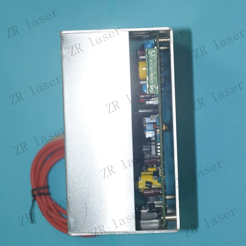 110V 220V High Voltage CO2 Laser Power Supply 40W For Engraving ZuRong high voltage flyback transformer for co2 50w laser power supply