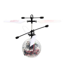 Mini Drone RC Ball Infrared Induction Mini Aircraft Flashing Light Remote Toys For Kids 30S8123 drop shipping
