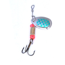 OLOEY Fishing Spoon Lures Metal Sliver Bait Spinners Spoon lure Fishing Lure Hard Bait Sequins with Feather Bass Treble Hook hot 30pcs lot spinners fishing lure mixed color size weight metal spoon lures hard bait fishing tackle free shipping atificial