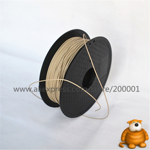 High Quality Wood lubricious 3d printer filament 1.75mm/3mm 1KG wholesale price by DHL and Fedex IE Free Shipping