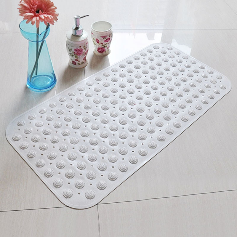Bathroom Anti Slip Bath Matte Surface Drain Hole Mat Shower Safety Safe Use In Mats From Home Garden On Aliexpress