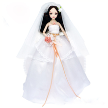 D0713 In box Best children girl gift 30cm Kurhn Chinese Doll Chinese myth Gift Traditional toy Happy wedding 1pcs
