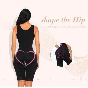 Image 5 - Lover Güzellik Kadınlar Bel Eğitmen Tam Vücut Şekillendirici Yelek Karın Bodysuit Açık Crotch Zayıflama Fit Sıkın Iç Çamaşırı Vücut Şekillendirici