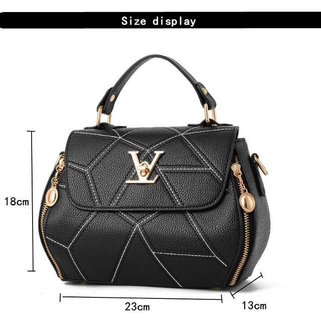 Famose Brand Womens Bag Luxury Leathe Handbags Shell thread Ladies Clutch Designer Bag Sac A Main Femme Bolsas Women'sTote Purse