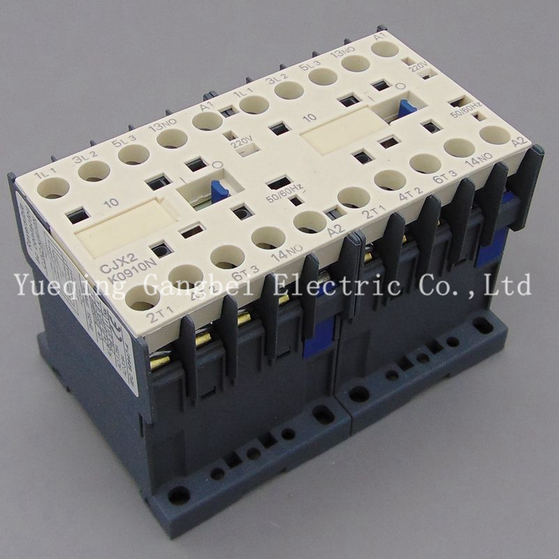 LP2K1610N reversing contactor mechanical interlocking contactor Mechanical chain contactor voltage DC220V DC110V DC24V DC12V