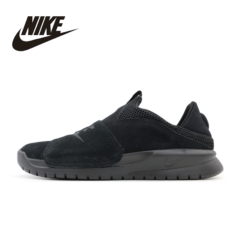 NIKE Original New Arrival Mens BENASSI 2017 Skateboarding Shoes Breathable Quick Dry Comfortable High Quality For Men#882410-003 nike original new arrival mens victory c ronaldo short nail training football shoes high quality comfortable for men