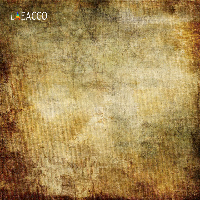 Laeacco Grunge Gradient Solid Cloth Texture Portrait Photography Backgrounds Customized Photographic Backdrops For Photo Studio