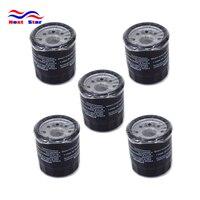 5PCS Engine Oil Filter Cleaner For KAWASAKI VN1500 VN1600 VN1700 VN2000 VN 1500 1600 1700 2000 KAF450 KAF540 KAF 450 540