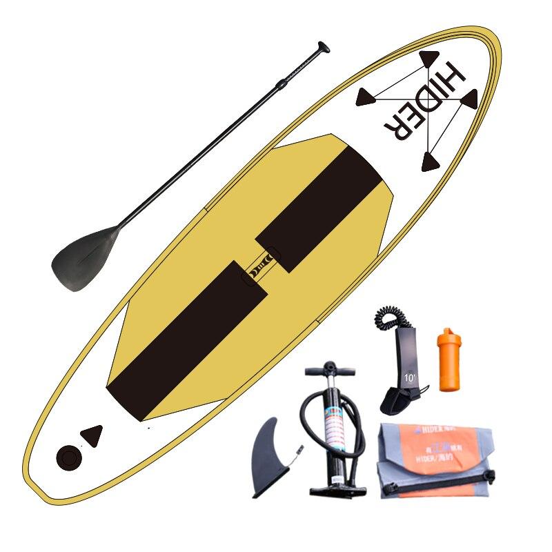 Planche de surf gonflable de SUP et amusement de l'eau de Yoga avec adapté aux besoins du client