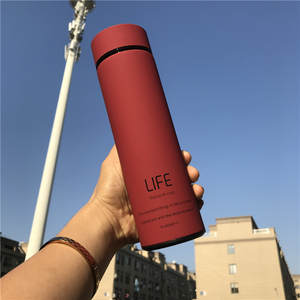 Vacuum-Flask Tea-Bottle FILTER Coffee-Mug Office Business Sport Hot-Water 500ML Stainless-Steel-304