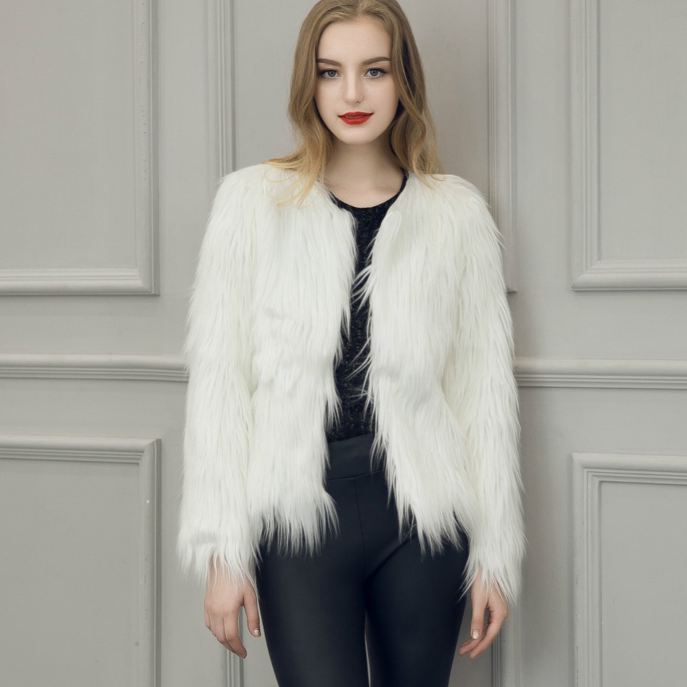 Chic Soft Faux Fur Coat 4