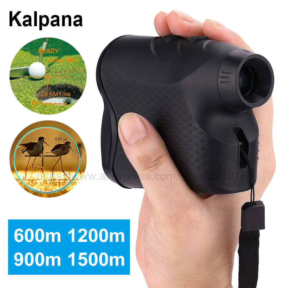 Hunting Telescope Laser Rangefinder 600M 900M 1200M 1500M Golf Laser Distance Meter Speed Angle Height Fog