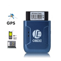 Car GPS OBD II GPS tracker Real Time GSM Tracker Anti theft Vibration Alarm GPRS Mini Auto GPS OBD2 Vehicle Tracking Device