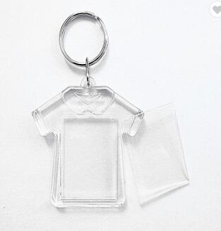 Customized Logo Promotional Plastic Custom Key Ring Key Chain