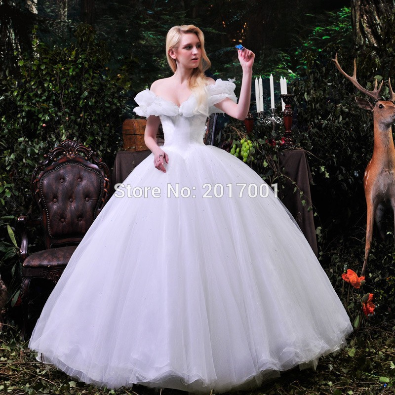 Cinderella Wedding Dress Made In China