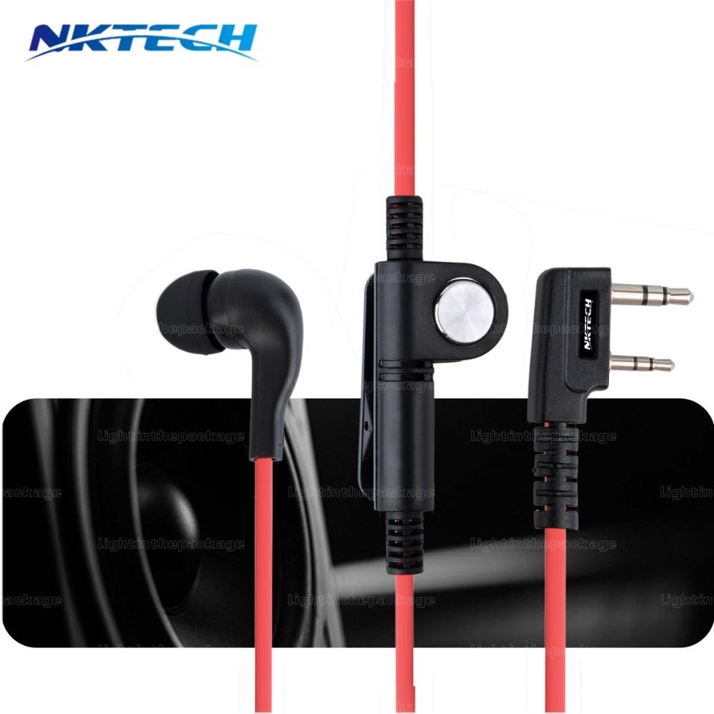 Подробнее о NKTECH Earphone Mic Earpiece Headset For Baofeng UV-5R UV82 BF888S BF777S UV5RX UV7RX Walkie Talkie WOUXUN TYT QYT 3 colors адаптер питания от прикуривателя eliminator baofeng uv 82