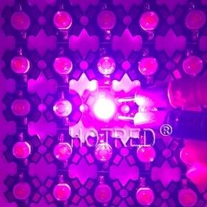 Image 5 - 100 個の led 3 ワット bridgelux 400nm 840nm フルスペクトルは光 Led チップ 45mil で 700mA 植物ライトブロードスペクトラム 20 ミリメートル/16 ミリメートル PCB
