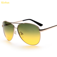 Amphibious Men Sunglasses Ray UV400 Polaroid Polarized Day Night Vision Male Car Driver Sun Glasses KisSun Brand 2017 New