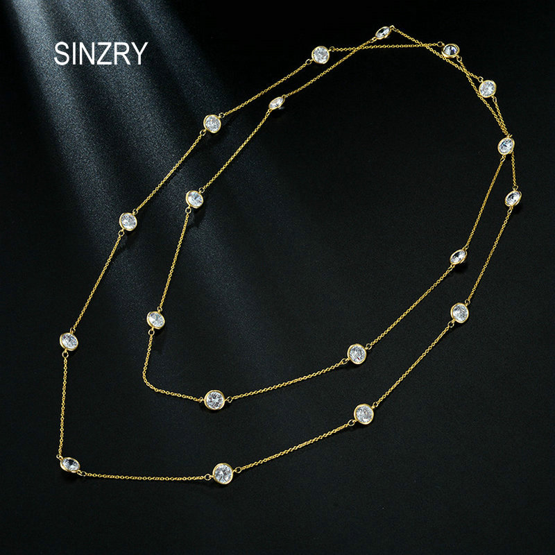 SINZRY elegant jewelry AAA cubic zirconia brilliant sweater chain CZ Fashion long necklaces women costume jewelry linear guide rail metal router engraver 1500w cnc 3040 parallel port 3axis wood engraving milling machine