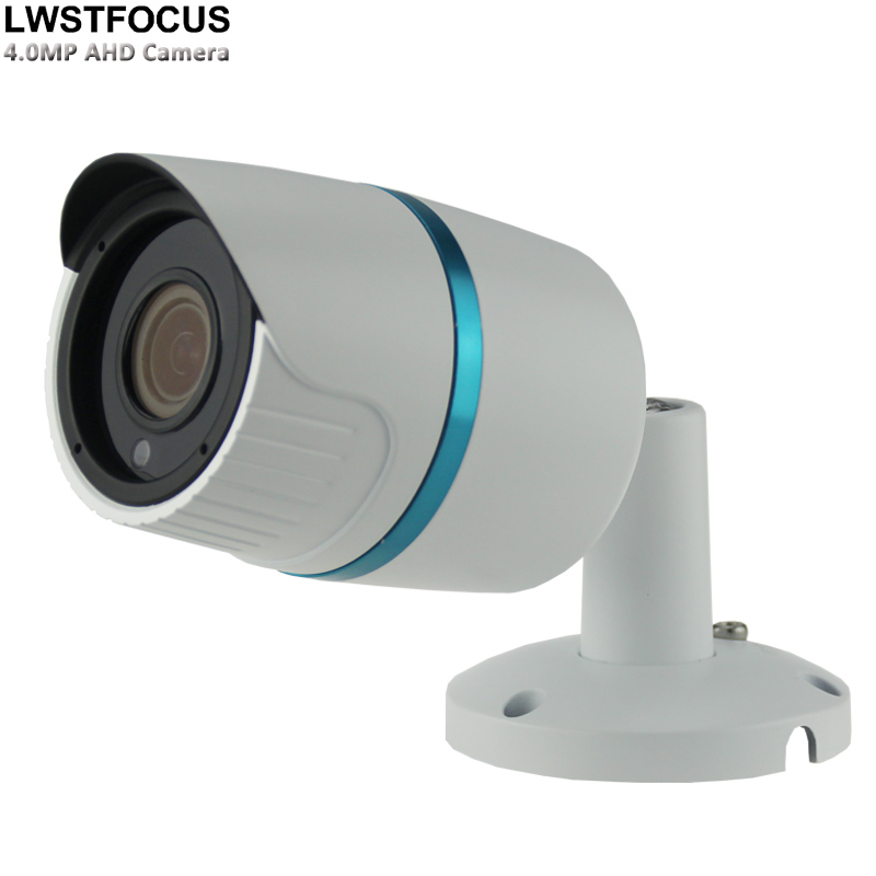 LWSTFOCUS Metal Bullet 4MP AHD Camera AHD Outdoor camera Best Image Perspective With IR Cut Filter HD 5MP 3.6mm Lens OSD AHD Cam bullet camera tube camera headset holder with varied size in diameter