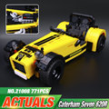 Lepin 21008 New 771Pcs Creative Technic Series The Caterham Classic 620R Racing Car Set Building Blocks Bricks 21307